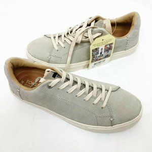 Toms Lenox Lace-Up Mens Sneaker Low Top Casual 8